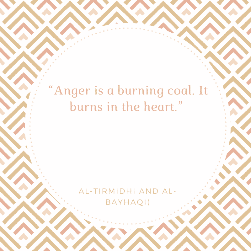 Anger Burns Heart