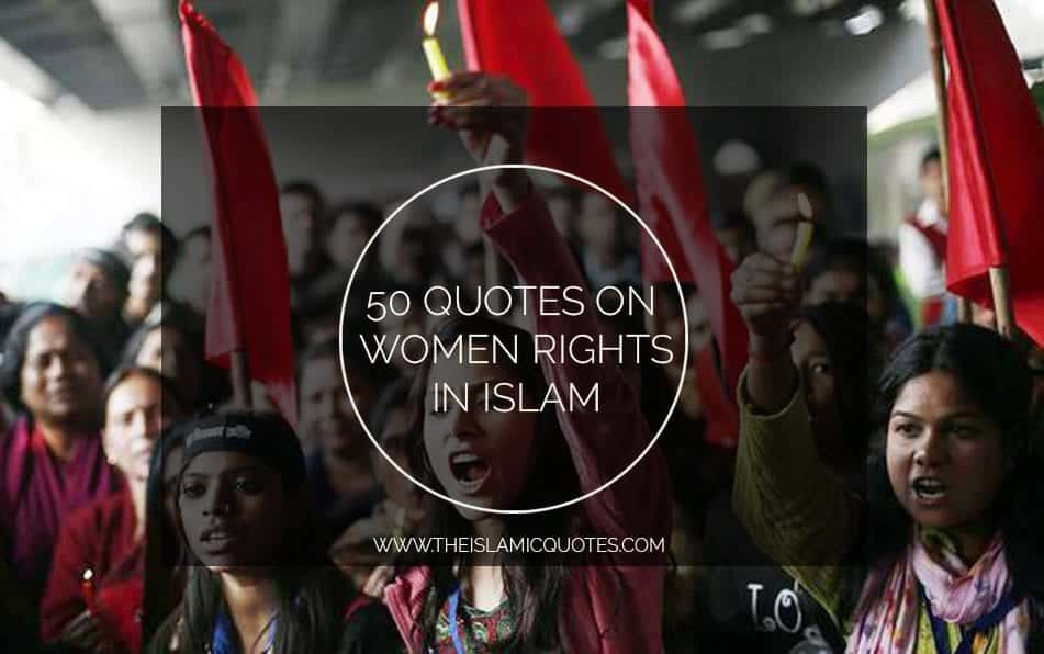quotes on women rights in islam